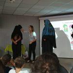 הרצאה בתיכון צפית-כפר מנחם