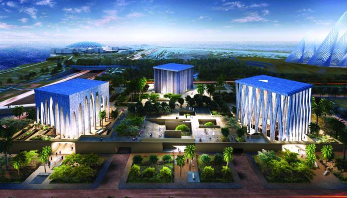 מיזם בית המשפחה האברהמית באמירויות - מסגד בית כנסת וכנסיה
