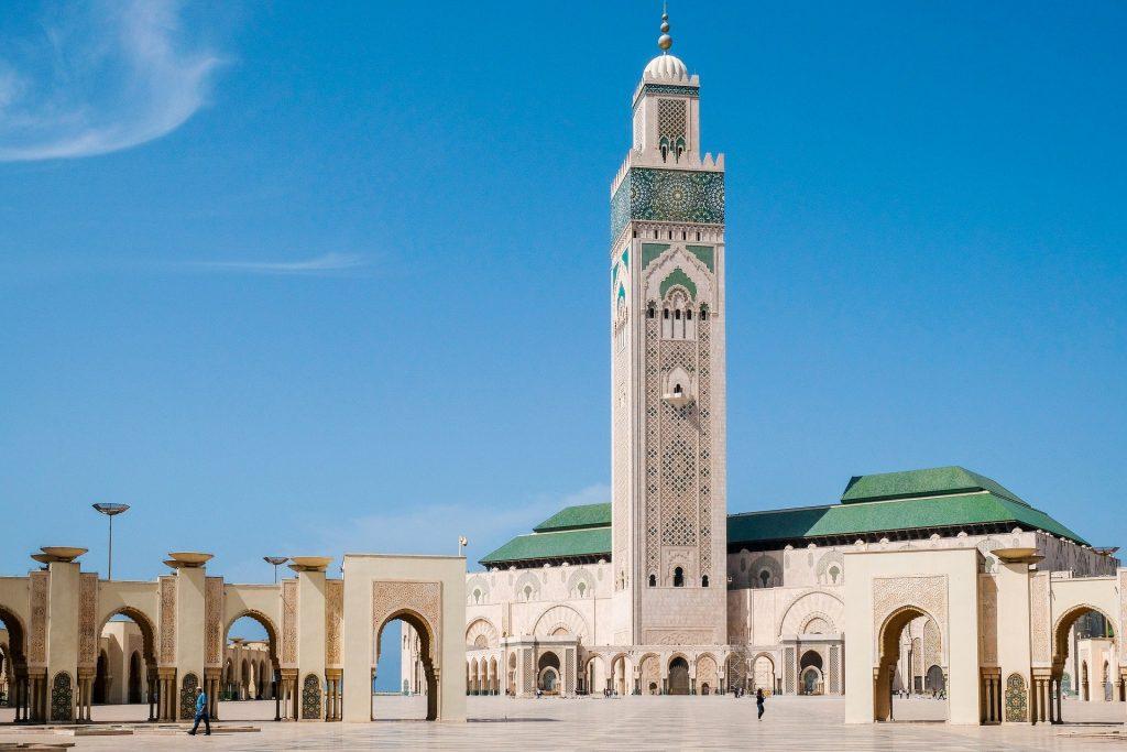 מסגד חסן השני. קזבלנקה מרוקו